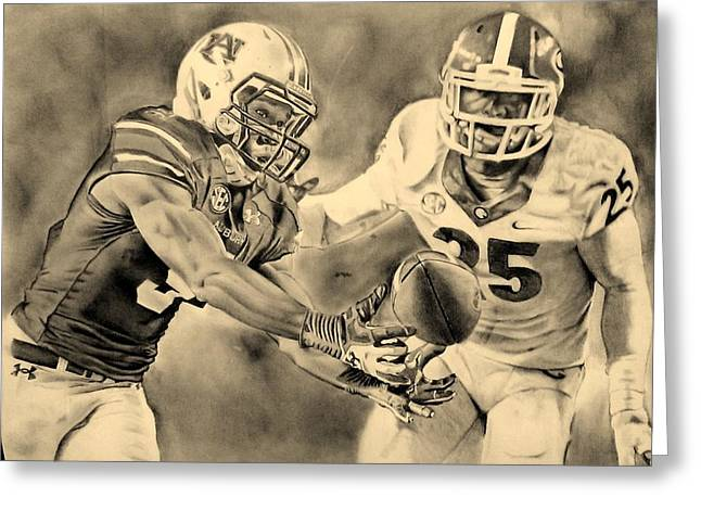 Sec Drawings Greeting Cards - That Amazing Moment Greeting Card by Jason Aldridge