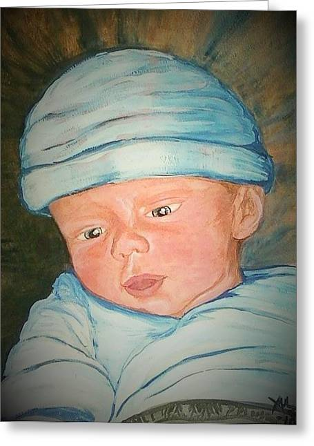 Angels Breath Greeting Cards - That Baby That Almost Was Not Greeting Card by Alexandria Weaselwise Busen