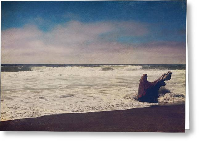 Northern California Beaches Greeting Cards - That Dirty Game Recaptures Me Greeting Card by Laurie Search