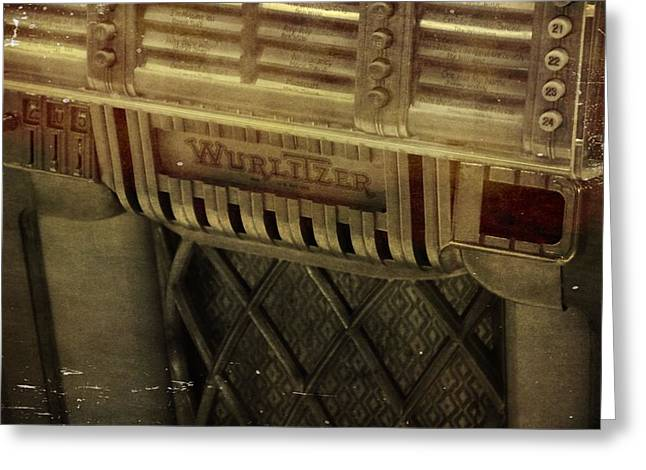 Recording Studio Greeting Cards - That Old Jukebox Greeting Card by Dan Sproul