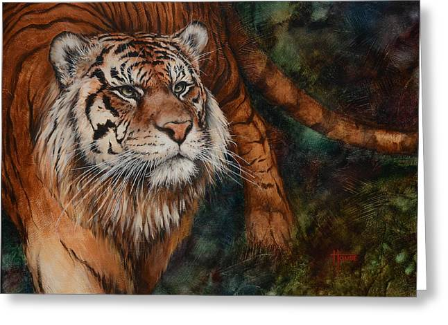 Wildcats Greeting Cards - That Once Burned So Bright Greeting Card by Cynthia House