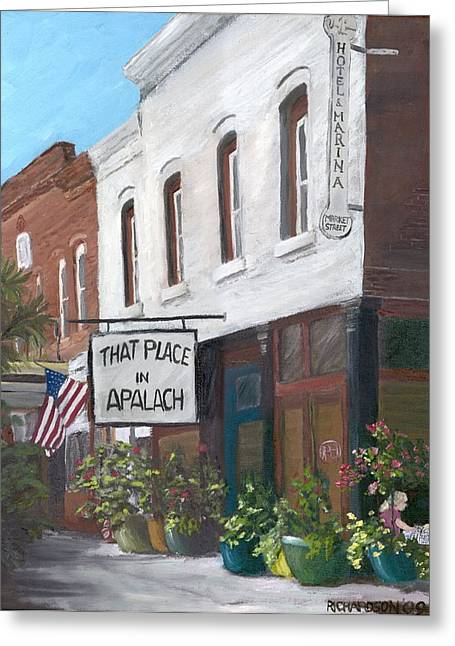 That Place In Apalach Greeting Card by Susan Richardson
