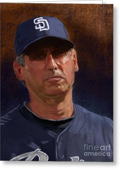 Petco Park Digital Art Greeting Cards - Thats Baseball Greeting Card by Jeremy Nash