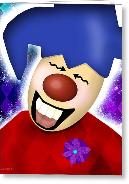 Jester Greeting Cards - Thats Funny Greeting Card by Melisa Meyers