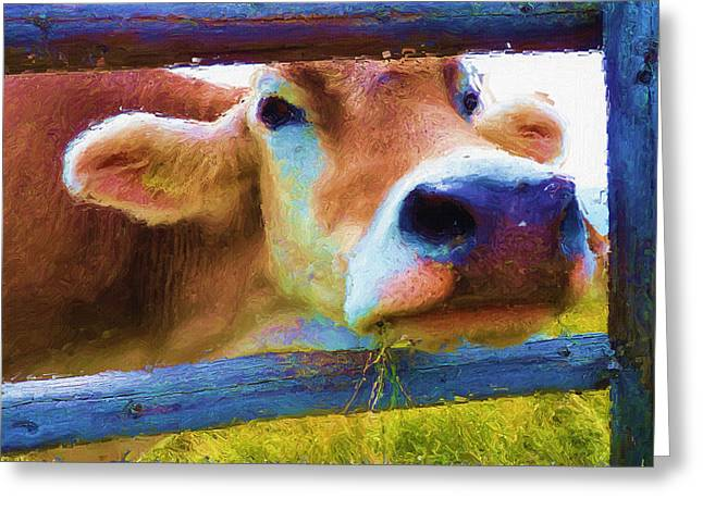 High Resolution Greeting Cards - Thats My Lunch Greeting Card by Ayse Deniz