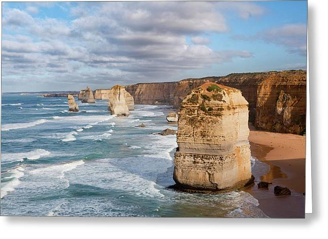 The 12 Apostles, Great Ocean Road Greeting Card by Martin Zwick