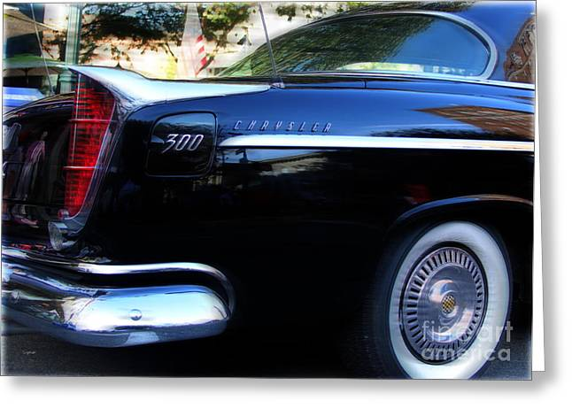 American Automobiles Digital Greeting Cards - The 300  Greeting Card by Steven  Digman