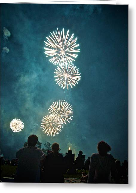 July 4th Photographs Greeting Cards - The 4th Greeting Card by Josh Eral