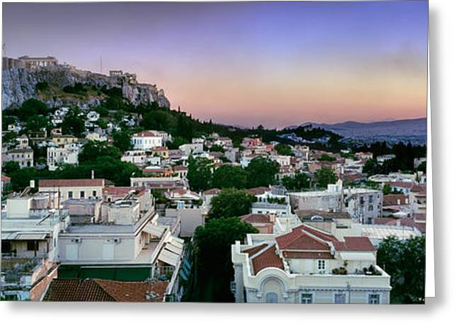 Acropolis Greeting Cards - The Acropolis Greeting Card by Rod McLean