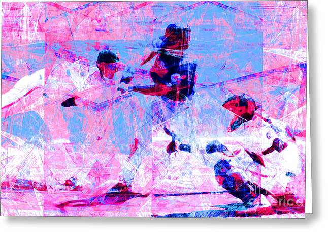 Att Baseball Park Greeting Cards - The All American Pastime 20140501 v2 Greeting Card by Wingsdomain Art and Photography