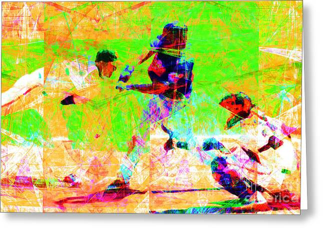 The All American Pastime 20140501 Greeting Card by Wingsdomain Art and Photography