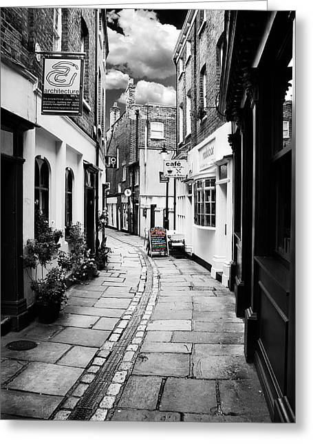 Alleys Greeting Cards - The Alley Greeting Card by Mark Rogan