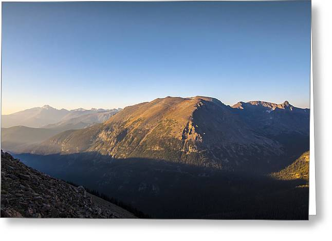 Heavenly Greeting Cards - The Alpine tundra of the Rockies in the morning light Greeting Card by Ellie Teramoto
