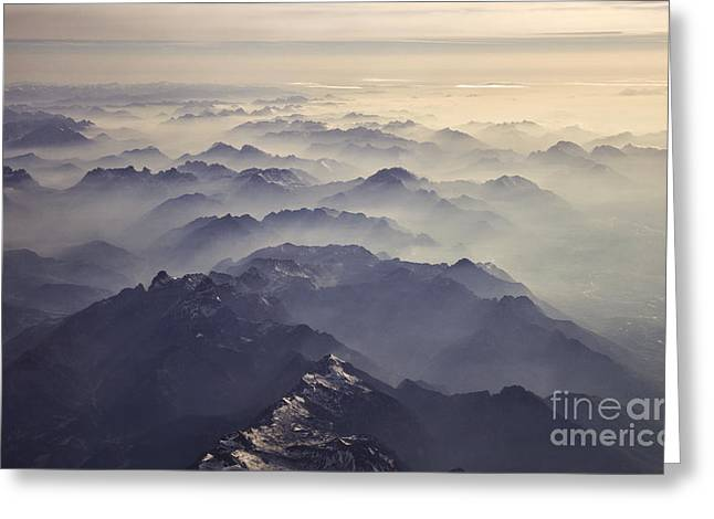 Inversion Greeting Cards - The Alps Greeting Card by Marko Korosec