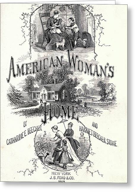 The American Woman's Home Greeting Card by Granger