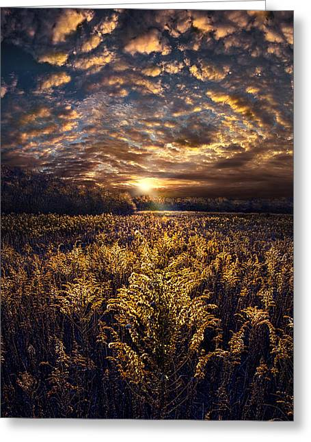 Geographic Greeting Cards - The Angels Get a Better View Greeting Card by Phil Koch