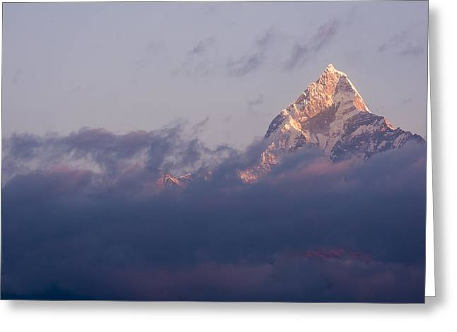 Tony Murray Greeting Cards - The Annapurna Greeting Card by Tony Murray