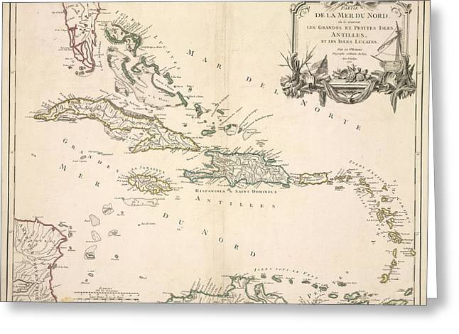 The Antilles Greeting Card by British Library