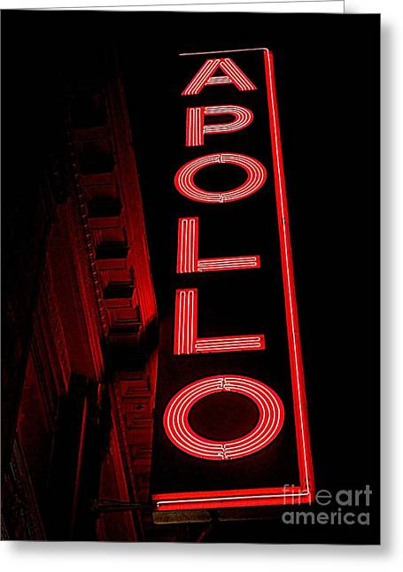 The Apollo Greeting Card by Ed Weidman