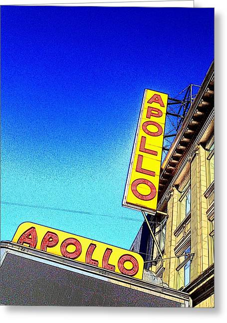 The Apollo Greeting Card by Gilda Parente
