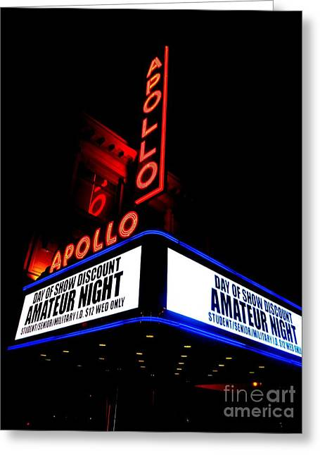 The Apollo Theater Greeting Card by Ed Weidman
