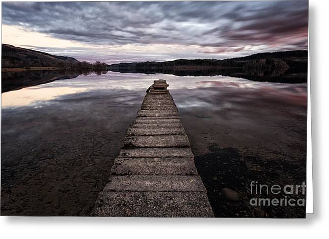 Visitscotland Greeting Cards - The aproach of night Greeting Card by John Farnan