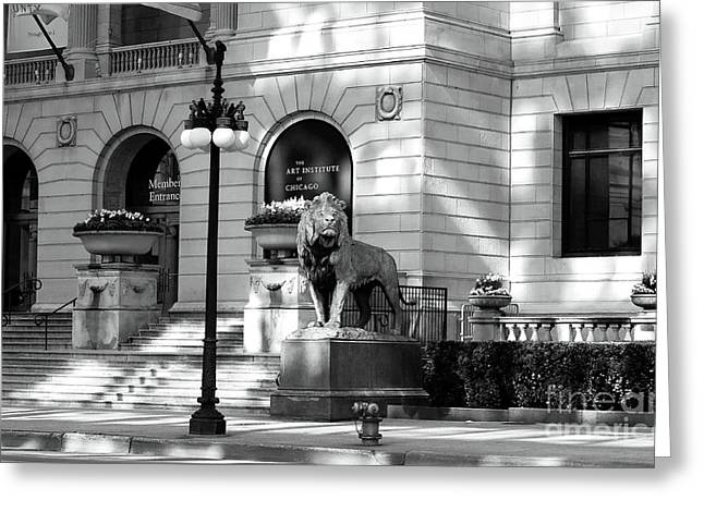 Sculpture For Sale Greeting Cards - The Art Institute of Chicago Greeting Card by John Rizzuto
