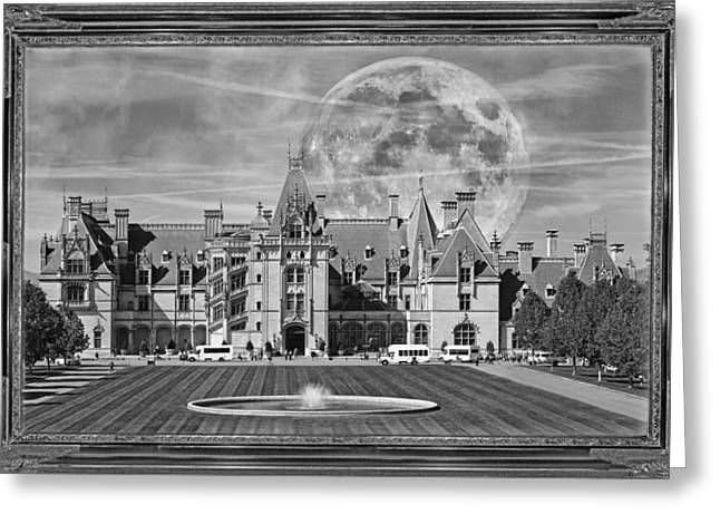 Historic Home Mixed Media Greeting Cards - The Art of Biltmore Greeting Card by Betsy C  Knapp