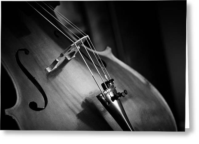 Cello Greeting Cards - The Art of Music Greeting Card by Mountain Dreams