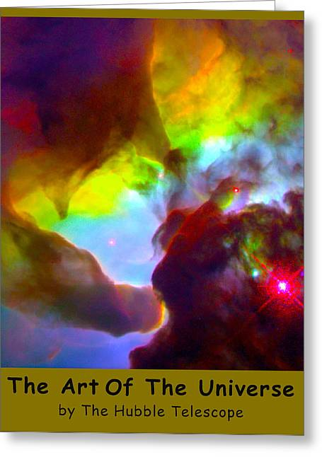 The Art Of The Universe 266 Greeting Card by The Hubble Telescope