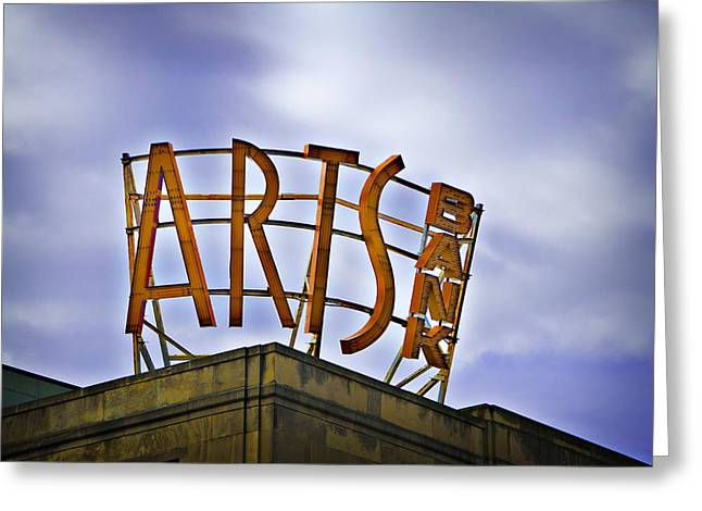 Phillies Art Digital Art Greeting Cards - The Arts Bank - Philadelphia Greeting Card by Bill Cannon