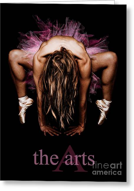 Body Builder Greeting Cards - The Arts Greeting Card by Jt PhotoDesign