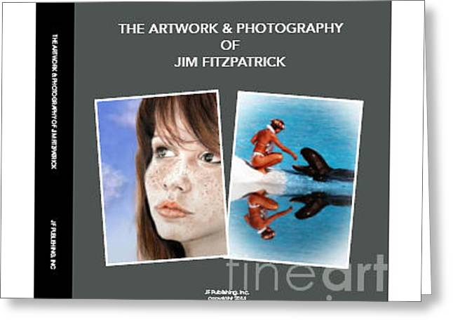 Book Cover Art Drawings Greeting Cards - The Artwork and Photography of Jim Fitzpatrick Greeting Card by Jim Fitzpatrick