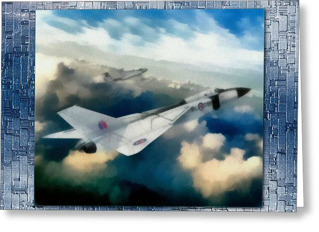 Photo-realism Greeting Cards - The Avro Arrow Greeting Card by Mario Carini