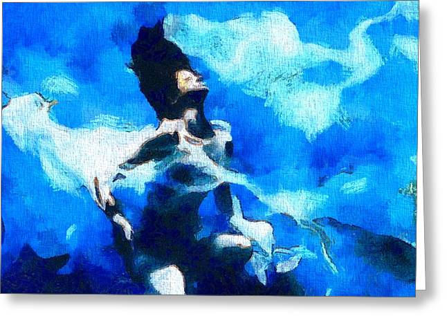 Conscious Paintings Greeting Cards - The Awakening Greeting Card by Dan Sproul