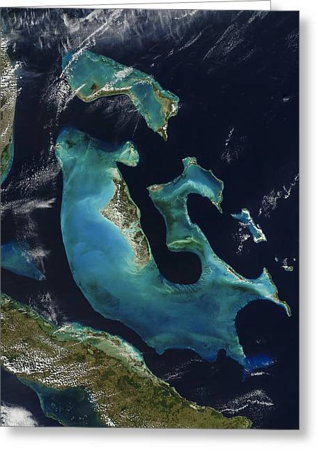 Landforms Greeting Cards - The Bahamas Greeting Card by Adam Romanowicz