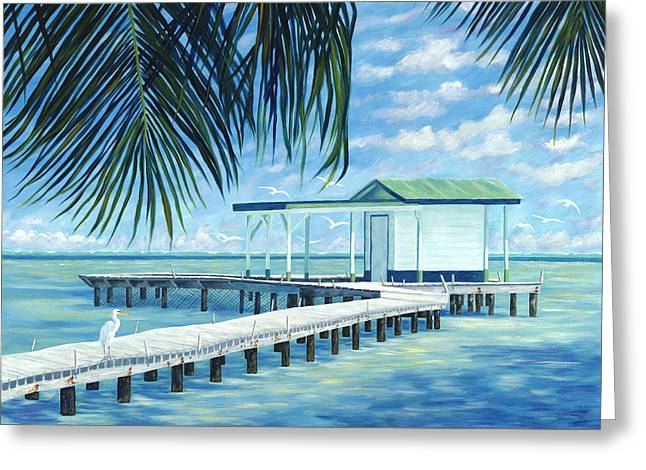 Danielle Perry Greeting Cards - The Bait Shack Greeting Card by Danielle  Perry