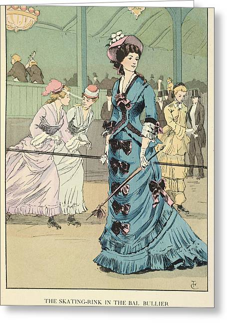 The Bal Bullier Greeting Card by British Library