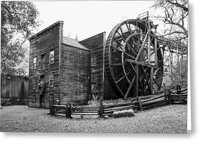 Grist Mill Greeting Cards - The Bale Grist Mill Greeting Card by Mountain Dreams