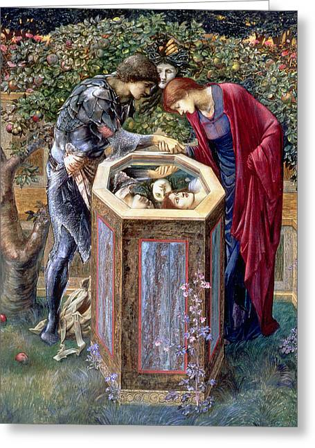 Andromeda Greeting Cards - The Baleful Head, C.1876 Greeting Card by Sir Edward Coley Burne-Jones