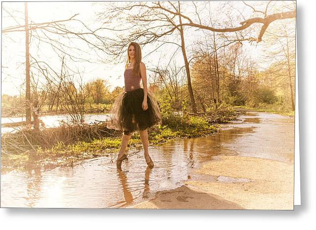 Ballet Dancers Photographs Greeting Cards - The Ballet Greeting Card by Ryan Crane
