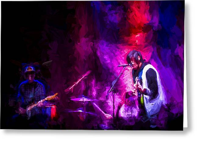 The Band Greeting Card by Vivian Frerichs