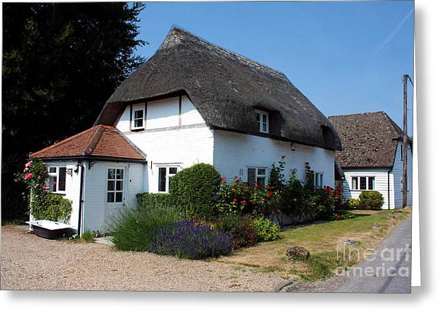 Terri Waters Greeting Cards - The Barn House Nether Wallop Greeting Card by Terri  Waters