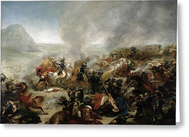 Military Greeting Cards - The Battle of Nazareth Greeting Card by Baron Antoine Jean Gros