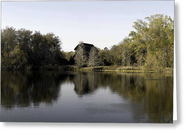 The Nature Center Greeting Cards - The Baughman Center Greeting Card by William Ragan