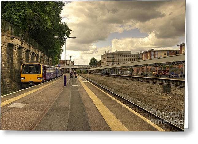 Southern Class Greeting Cards - The Bay at Exeter Central  Greeting Card by Rob Hawkins