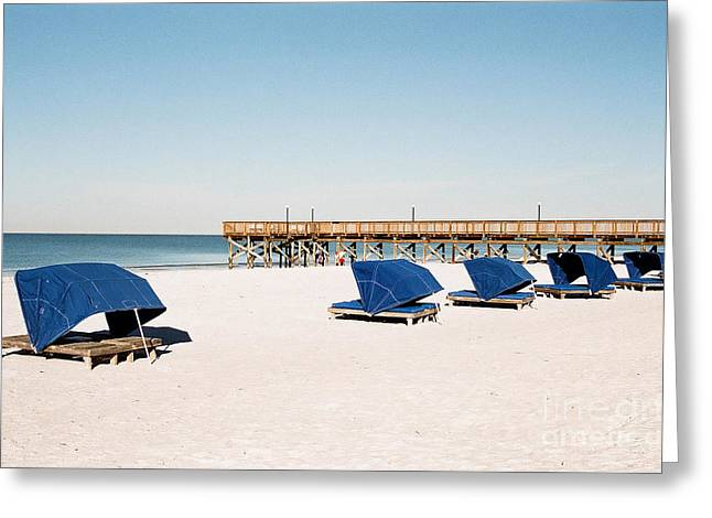 Garuna Liu Greeting Cards - The beach Greeting Card by Garuna Liu