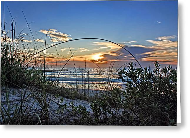 Ocean Art Photos Greeting Cards - The Beach 2 Greeting Card by HH Photography of Florida