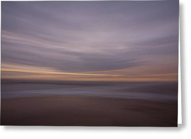 The Beach Greeting Card by Peter Tellone