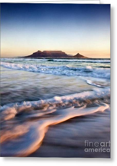 Horizen Greeting Cards - The Beach Greeting Card by Scott B Bennett